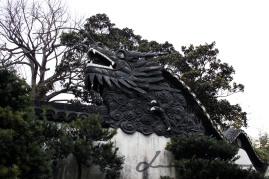 Yuyuan Garden 豫园, dragon, Shanghai