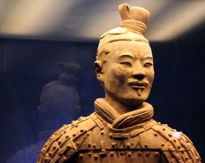 Terracotta warriors of Qin Shi Huang V