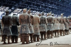 Terracotta warriors of Qin Shi Huang II