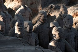 Terracotta warriors of Qin Shi Huang