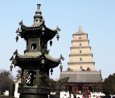 大雁塔, Dàyàn Tǎ, Big Wild Goose Pagoda II
